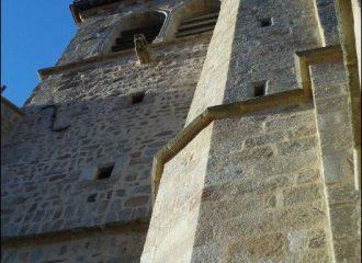 église de sauvain proche de notre gite la Fenière des hautes Chaumes situé dans le Forez proche de Chalmazel